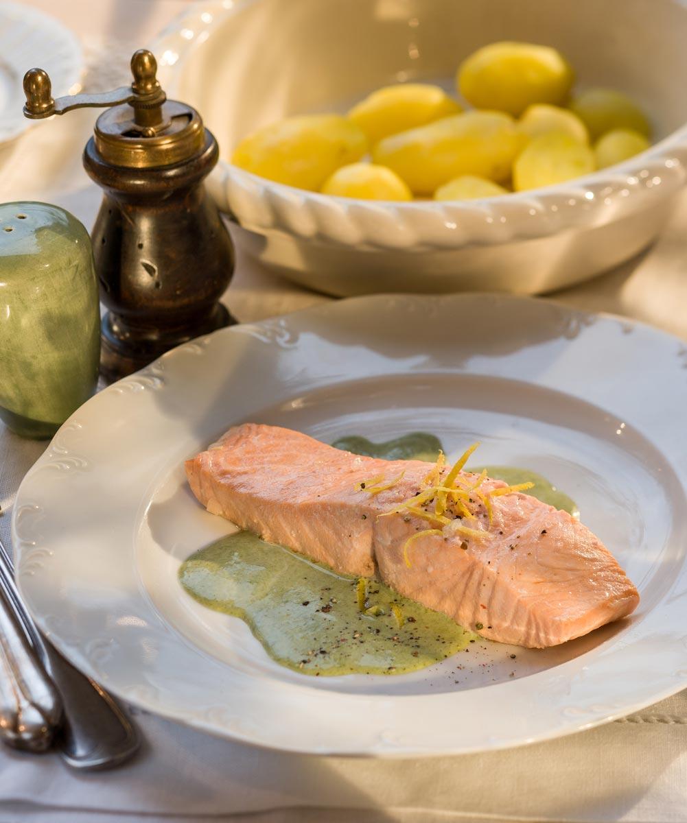 Salmon & Sorrel